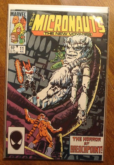 Micronauts: The New Voyages #11 comic book - Marvel comics