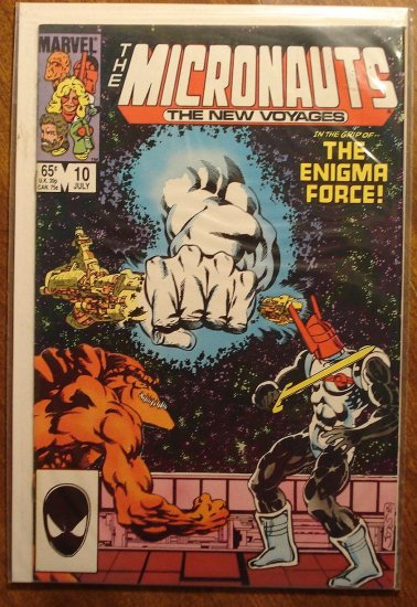 Micronauts: The New Voyages #10 comic book - Marvel comics