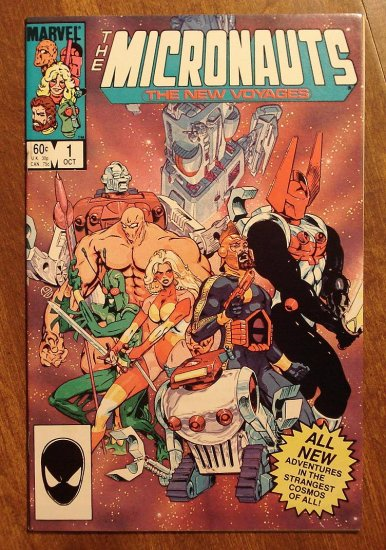 Micronauts: The New Voyages #1 comic book - Marvel comics