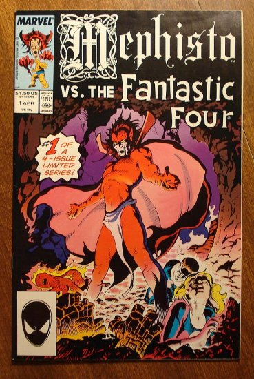 Mephisto vs. The Fantastic Four #1 comic book - Marvel comics