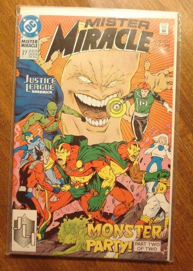 Mister Miracle (1980's series) #27 comic book - DC Comics