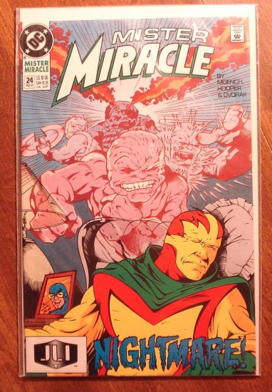 Mister Miracle (1980's series) #24 comic book - DC Comics