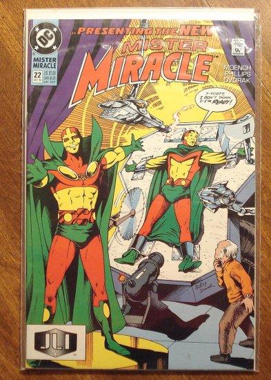 Mister Miracle (1980's series) #22 comic book - DC Comics