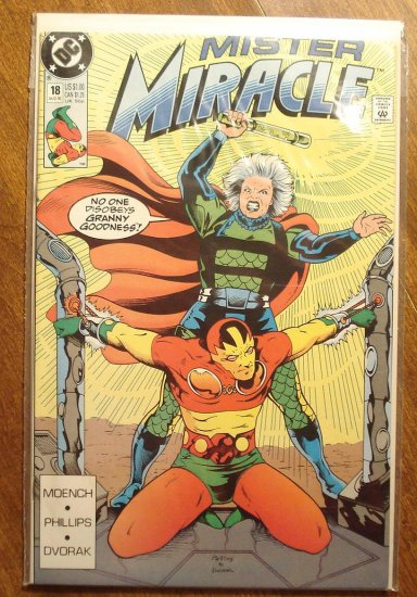 Mister Miracle (1980's series) #18 comic book - DC Comics