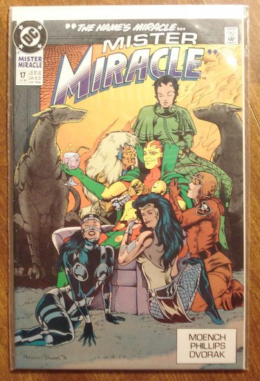 Mister Miracle (1980's series) #17 comic book - DC Comics
