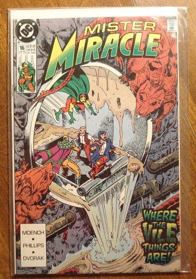 Mister Miracle (1980's series) #16 comic book - DC Comics