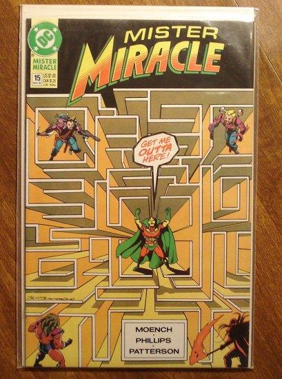 Mister Miracle (1980's series) #15 comic book - DC Comics