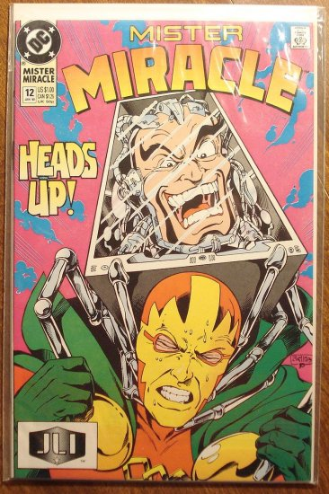 Mister Miracle (1980's series) #12 comic book - DC Comics