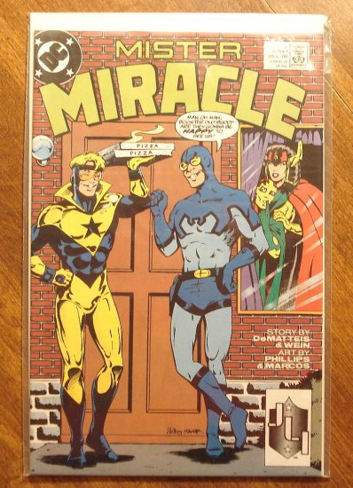 Mister Miracle (1980's series) #7 comic book - DC Comics