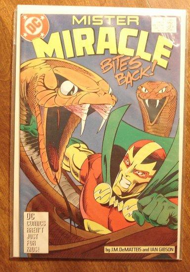 Mister Miracle (1980's series) #2 comic book - DC Comics
