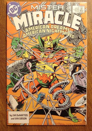 Mister Miracle (1980's series) #1 comic book - DC Comics