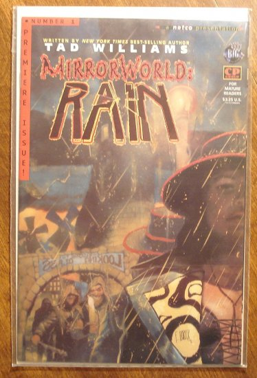 MirrorWorld Rain #1 comic book - Tekno comics
