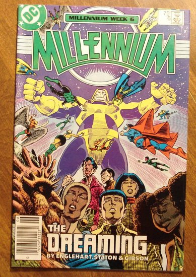 Millennium #6 comic book - DC Comics