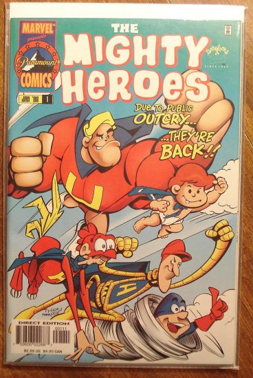 The Mighty Heroes #1 comic book - Marvel Comics