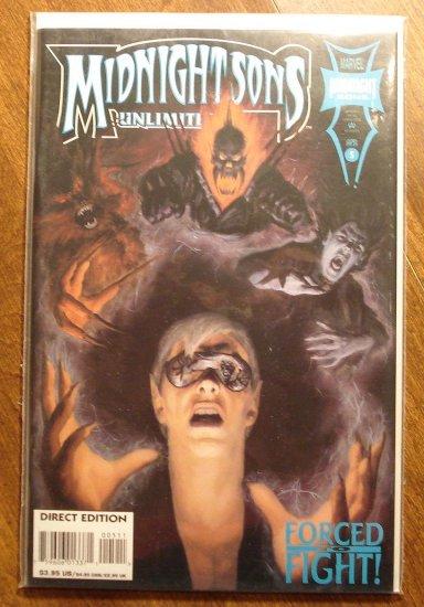 Midnight Sons Unlimited #5 comic book - Marvel comics