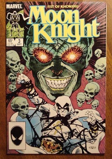 Moon Knight: Fist of Khonshu #3 comic book - Marvel Comics