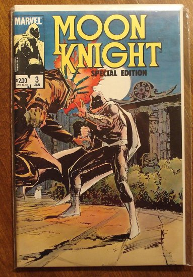 Moon Knight: Special Edition #3 comic book - Marvel Comics