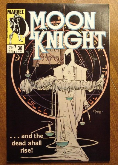 Moon Knight #38 (1980's series) comic book - Marvel Comics