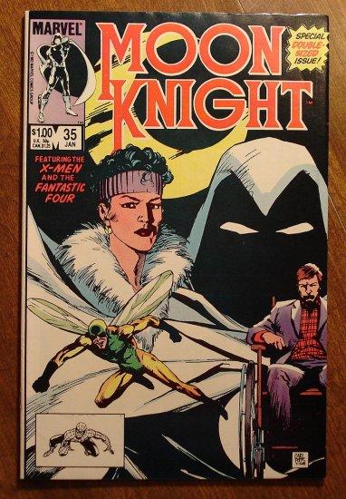 Moon Knight #35 (1980's series) comic book - Marvel Comics