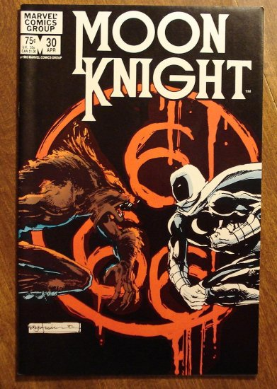 Moon Knight #30 (1980's series) comic book - Marvel Comics