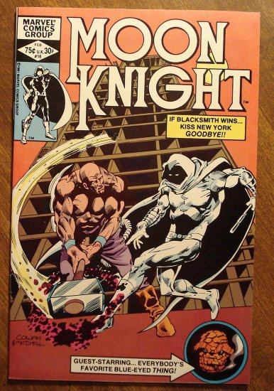 Moon Knight #16 (1980's series) comic book - Marvel Comics