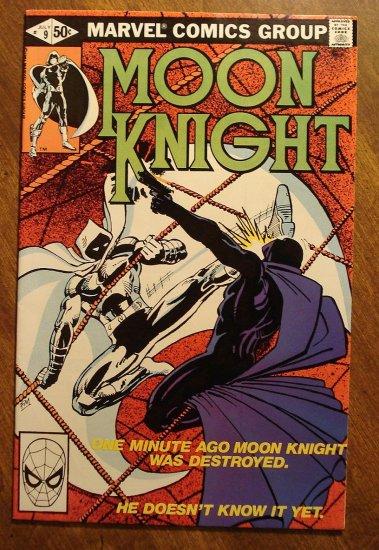 Moon Knight #9 (1980's series) comic book - Marvel Comics