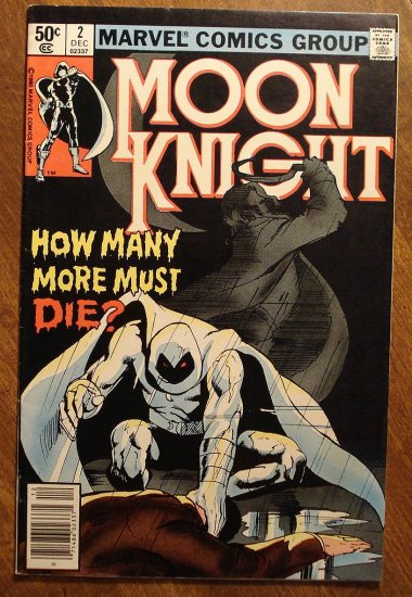 Moon Knight #2 (1980's series) comic book - Marvel Comics