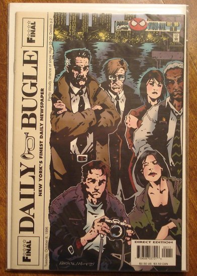 Daily Bugle #1 comic book - Marvel comics - Spider-Man