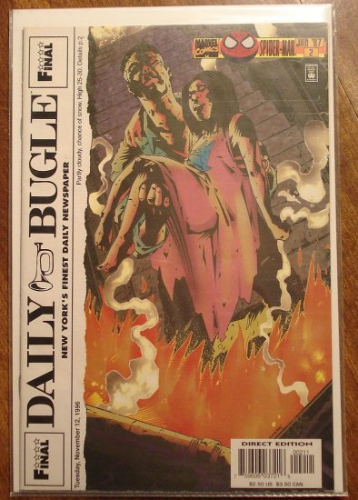 Daily Bugle #2 comic book - Marvel comics - Spider-Man
