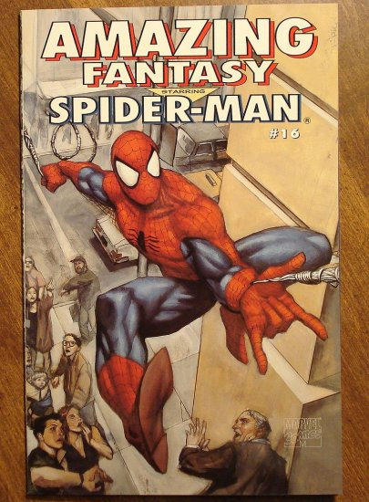 Amazing Fantasy starring Spider-man #16 comic book - Marvel comics - SpiderMan