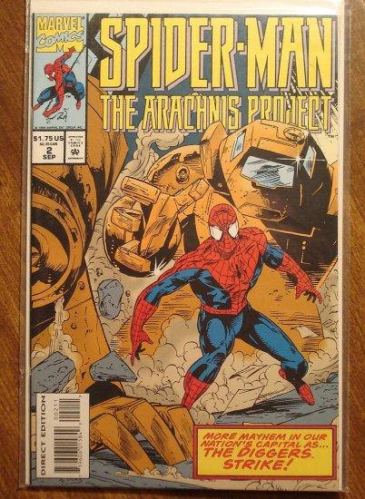 Marvel Comics - Spider-Man (spiderman) The Arachnis Project #2 comic book