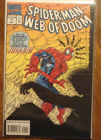 Spider-Man: Web of Doom #1 comic book - Marvel Comics, (spiderman)