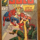Solo #2 comic book - Marvel comics - with Spider-Man!