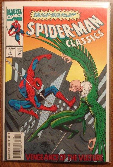 Spider-Man Classics #8 comic book - Marvel Comics, (spiderman)