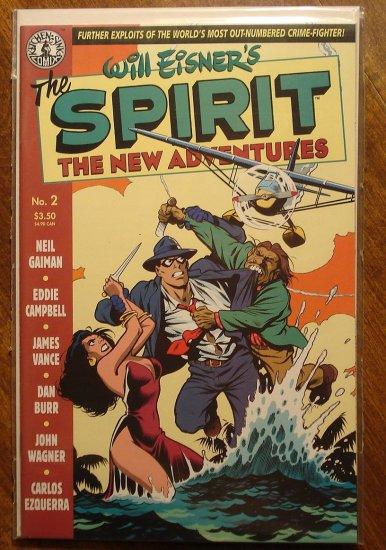 Will Eisner's The Spirit - New Adventures #2 comic book - Kitchen Sink Comics (comix)