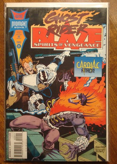 Ghost Rider & Blaze: Spirits of Vengeance #22 comic book - Marvel Comics