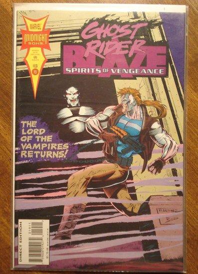 Ghost Rider & Blaze: Spirits of Vengeance #19 comic book - Marvel Comics