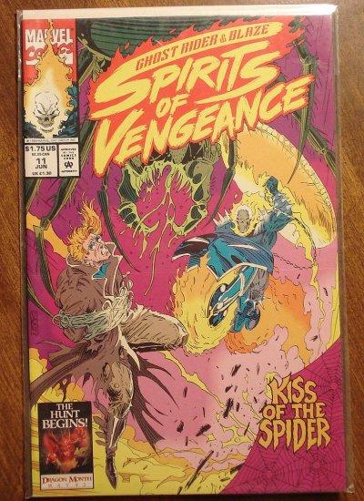 Ghost Rider & Blaze: Spirits of Vengeance #11 comic book - Marvel Comics