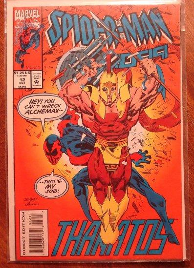 Spider-Man 2099 #12 comic book - Marvel Comics, (spiderman)