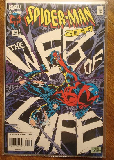 Spider-Man 2099 #26 comic book - Marvel Comics, (spiderman)