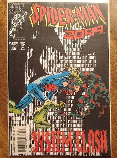 Spider-Man 2099 #20 comic book - Marvel Comics, (spiderman)