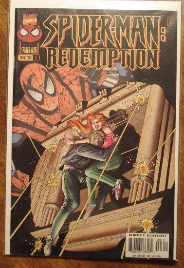 Spider-Man: Redemption #3 comic book - Marvel Comics, (spiderman)