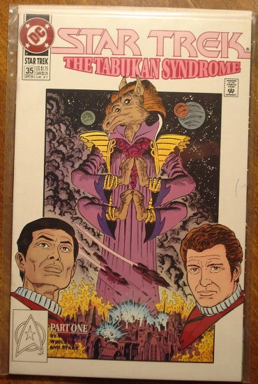 Star Trek #35 comic book (1990's series) - DC Comics