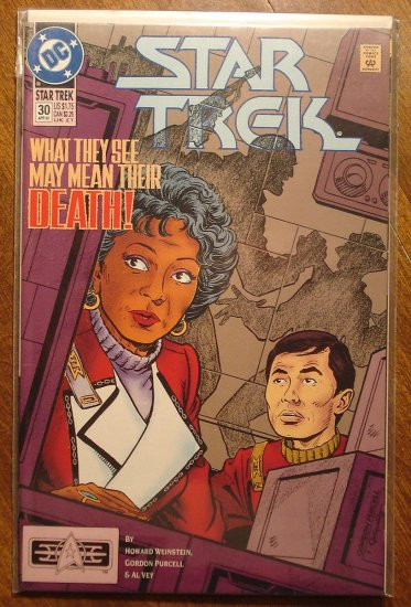 Star Trek #30 comic book (1990's series) - DC Comics