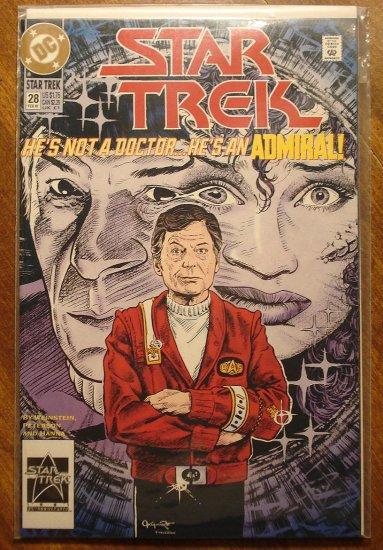 Star Trek #28 comic book (1990's series) - DC Comics