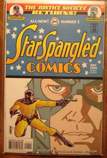 Star Spangled Comics #1 comic book (1999 series) - DC Comics