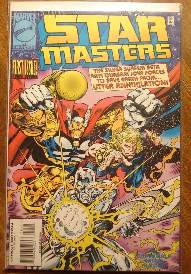 Star Masters #1 comic book - Marvel Comics