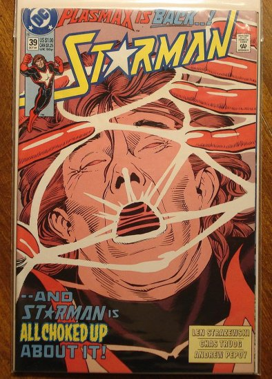 Starman #39 comic book - DC Comics