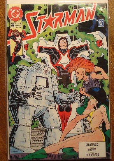 Starman #37 comic book - DC Comics