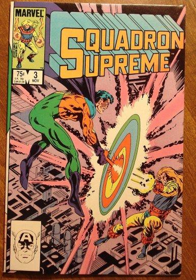 Squadron Supreme #3 (1980's) comic book - Marvel Comics